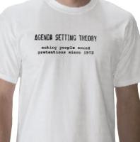 Agenda Setting T-Shirt